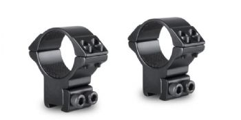 Hawke Match 30mm HIGH Rifle Scope Mount Rings - 9-11mm Airgun Rimfire base 22108